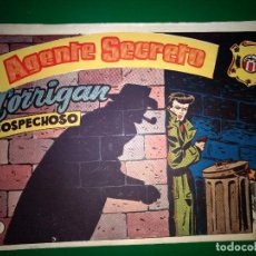 Tebeos: AGENTE SECRETO HISPANO AMERICANA Nº 8 ORIGINAL AÑO 1958- MEL GRAFF. Lote 197633075