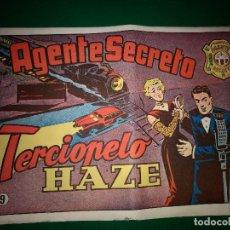 Tebeos: AGENTE SECRETO HISPANO AMERICANA Nº 9 ORIGINAL AÑO 1958- MEL GRAFF. Lote 197633158