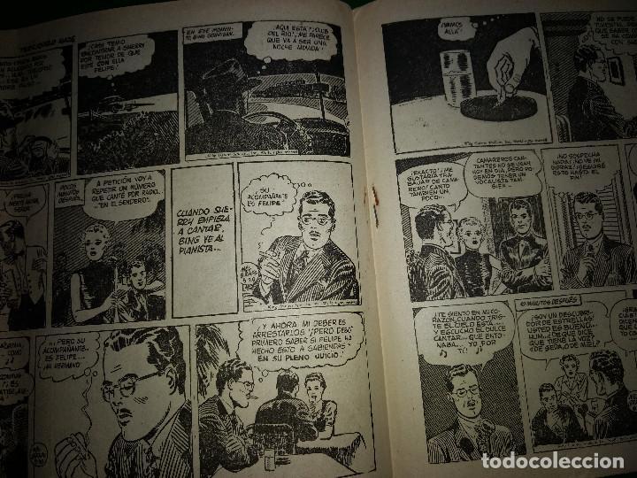 Tebeos: AGENTE SECRETO HISPANO AMERICANA nº 9 original año 1958- MEL GRAFF - Foto 3 - 197633158