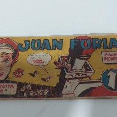 Livros de Banda Desenhada: JUAN FURIA LA MEZQUITA TRÁGICA NU 22. Lote 197737576