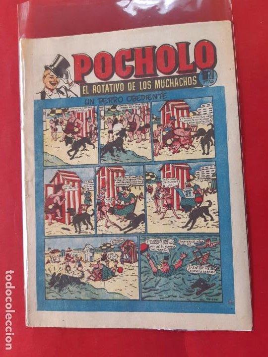 POCHOLO Nº 17 H.AMERICANA 1951 OPISSO EXCELENTE ESTADO VER FOTOS (Tebeos y Comics - Hispano Americana - Otros)