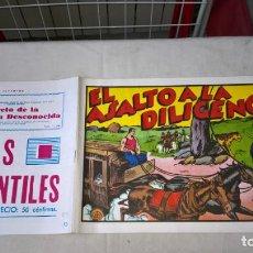 Tebeos: COMIC: JUAN CENTELLA EL ASALTO A LA DILIGENCIA Nº 13. Lote 197968413