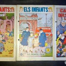 Tebeos: LOTE DE 3 ANTIGUOS TEBEOS ELS INFANTS Nº 5-6-7, HISPANO AMERICANA AÑOS 50, VER FOTOS. Lote 198086423