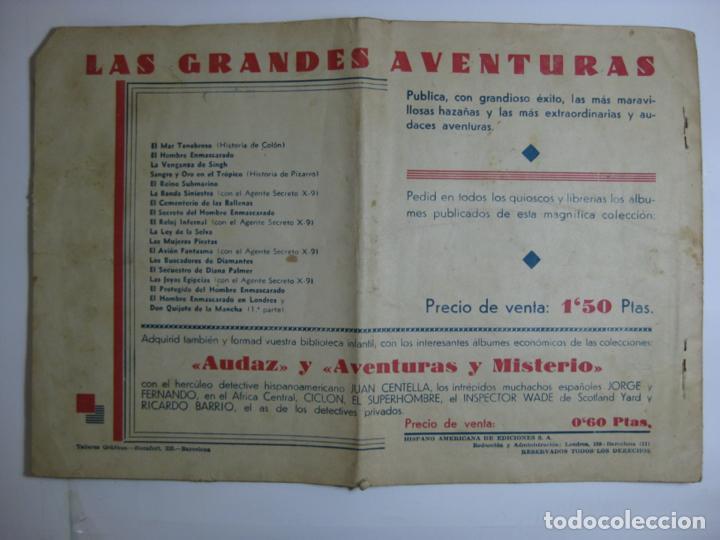 Tebeos: LAS GRANDES AVENTURAS - DON QUIJOTE DE LA MANCHA 2ª PARTE - Foto 4 - 198311140