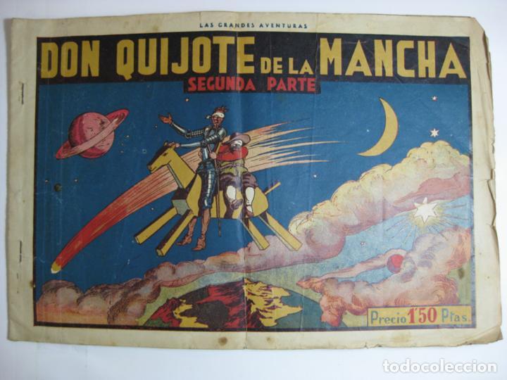 LAS GRANDES AVENTURAS - DON QUIJOTE DE LA MANCHA 2ª PARTE (Tebeos y Comics - Hispano Americana - Otros)