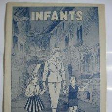 Tebeos: ELS INFANTS Nº3 - VARIANTE PORTADA DOS TINTAS. Lote 198785722