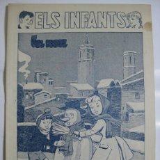 Tebeos: ELS INFANTS Nº8 - VARIANTE PORTADA DOS TINTAS. Lote 198785815
