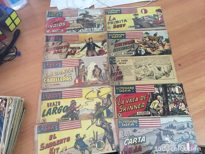 Tebeos: EL PEQUEÑO SHERIFF LOTE 213 EJEMPLARES CON TODOS LOS ÚLTIMOS (ORIGINAL HISPANO AMERICANA)(COIB71) - Foto 7 - 199056116