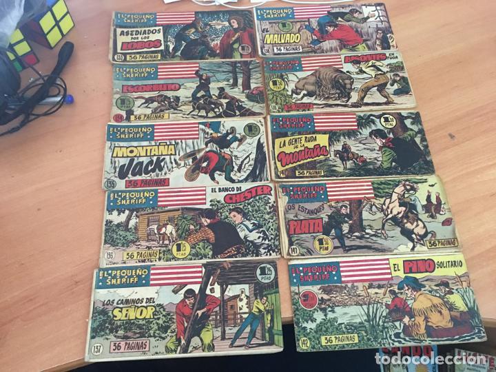 Tebeos: EL PEQUEÑO SHERIFF LOTE 213 EJEMPLARES CON TODOS LOS ÚLTIMOS (ORIGINAL HISPANO AMERICANA)(COIB71) - Foto 11 - 199056116