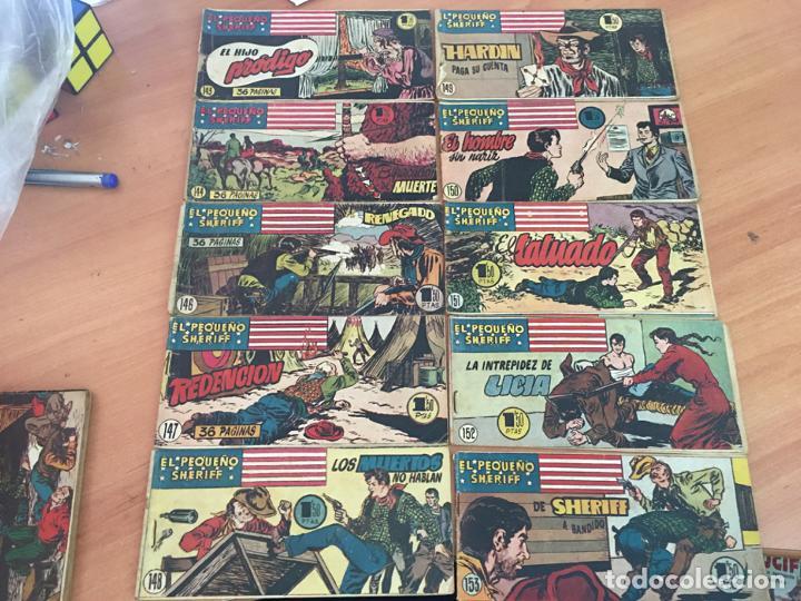 Tebeos: EL PEQUEÑO SHERIFF LOTE 213 EJEMPLARES CON TODOS LOS ÚLTIMOS (ORIGINAL HISPANO AMERICANA)(COIB71) - Foto 12 - 199056116