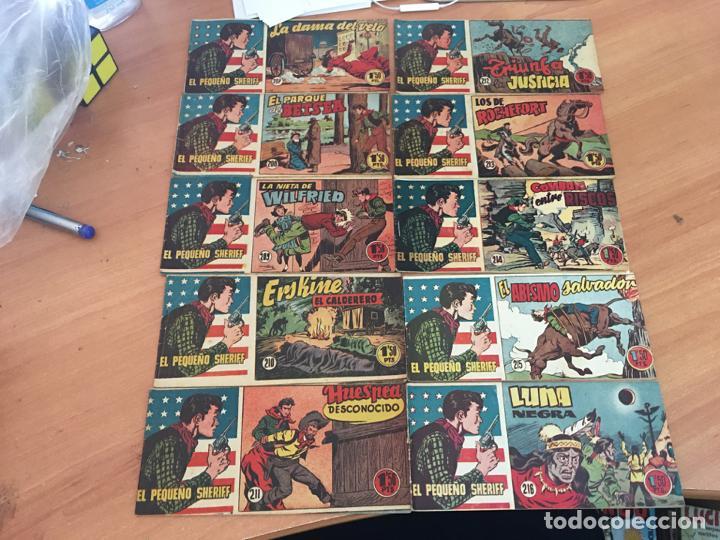 Tebeos: EL PEQUEÑO SHERIFF LOTE 213 EJEMPLARES CON TODOS LOS ÚLTIMOS (ORIGINAL HISPANO AMERICANA)(COIB71) - Foto 18 - 199056116