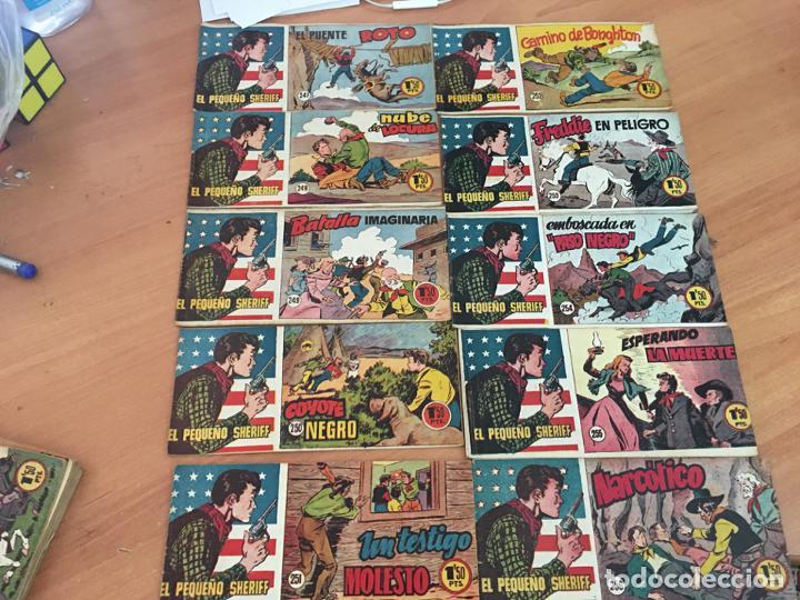 Tebeos: EL PEQUEÑO SHERIFF LOTE 213 EJEMPLARES CON TODOS LOS ÚLTIMOS (ORIGINAL HISPANO AMERICANA)(COIB71) - Foto 22 - 199056116