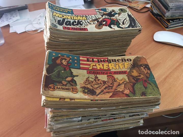 EL PEQUEÑO SHERIFF LOTE 213 EJEMPLARES CON TODOS LOS ÚLTIMOS (ORIGINAL HISPANO AMERICANA)(COIB71) (Tebeos y Comics - Hispano Americana - Otros)