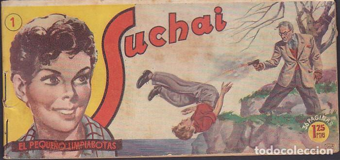 LOTE DE 166 COMICS DIFERENTES COLECCION SUCHAI (Tebeos y Comics - Hispano Americana - Suchai)