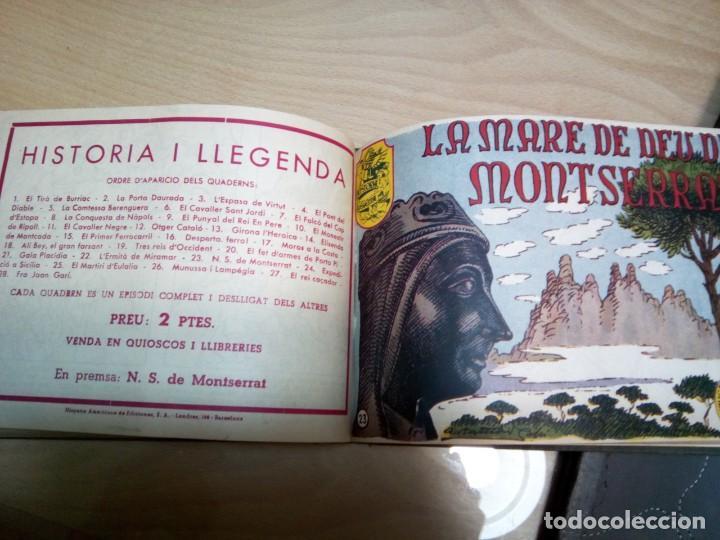 Tebeos: * HISTORIA I LLEGENDA. COLECCION .28 NUMEROS. (RF: P-33/*) - Foto 3 - 199463766