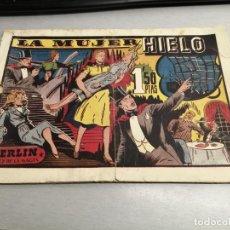 BDs: MERLÍN EL REY DE LA MAGIA: LA MUJER DE HIELO / HISPANO AMERICANA ORIGINAL. Lote 200099717