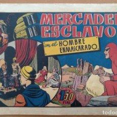 Tebeos: HOMBRE ENMASCARADO 29: EL MERCADER DE ESCLAVOS, 1944, BUEN ESTADO HISPANO AMERICANA. Lote 200798966