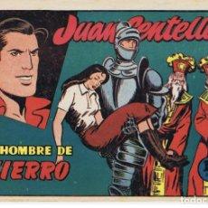 Tebeos: EL HOMBRE DE HIERRO. JUAN CENTELLA. Lote 202280193