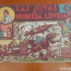 Tebeos: JORGE Y FERNANDO Nº 7 LAS JOYAS DE LA PRINCESA LOVICIA. Lote 202718840