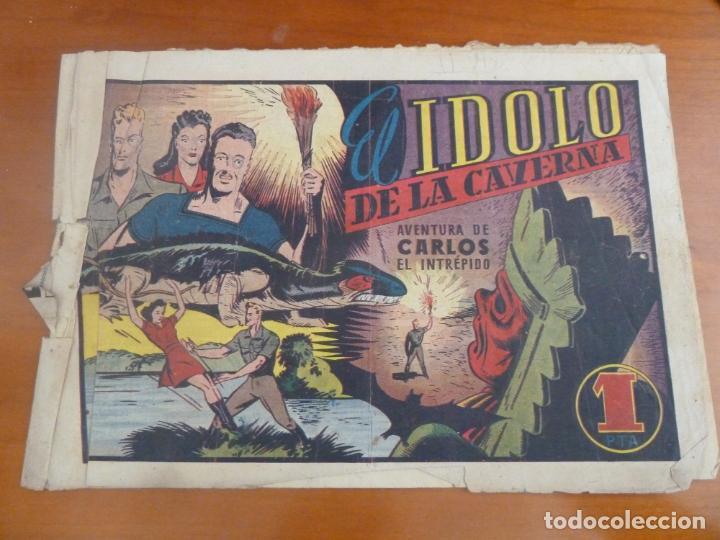 CARLOS EL INTREPIDO EL IDOLO DE LA CAVERNA (Tebeos y Comics - Hispano Americana - Carlos el Intrépido)
