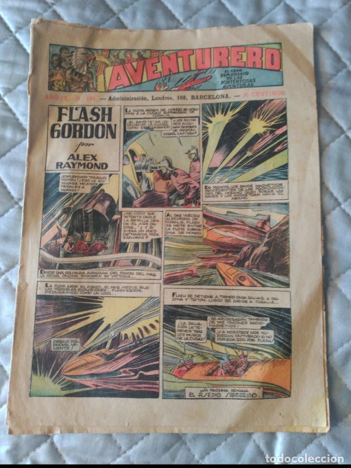 EL AVENTURERO Nº 130 HISPANO AMERICANA (Tebeos y Comics - Hispano Americana - Aventurero)