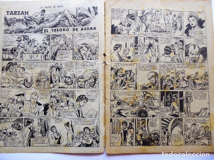 Tebeos: COM-200. TARZÁN. EL TEMPLO DE ASHRA. EXTRA 9. ORIGINAL. HISPANO AMERICANA DE EDICIONES. AÑOS 40 - Foto 3 - 202819482