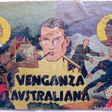 Tebeos: COM-201. INSPECTOR WADE. VENGANZA AUSTRALIANA.HISPANO AMERICANA DE EDICIONES. AÑO 1942. ORIGINAL.. Lote 202821357