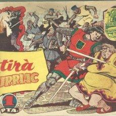 Tebeos: 3936.- HISTORIA I LLEGENDA - COMICS - 28 NUMEROS COMPLERTA -HISPANO AMERICANA DE EDICIONES -ANY 1956. Lote 203224505