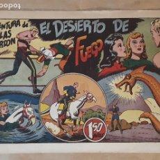Tebeos: FLAS GORDON (1,50 PTS.) - HISPANO AMERICANA / NÚMERO 9 (EL DESIERTO DE FUEGO). Lote 203250210