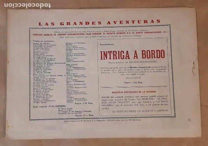 Tebeos: FLAS GORDON (1,50 PTS.) - HISPANO AMERICANA / NÚMERO 9 (EL DESIERTO DE FUEGO) - Foto 2 - 203250210