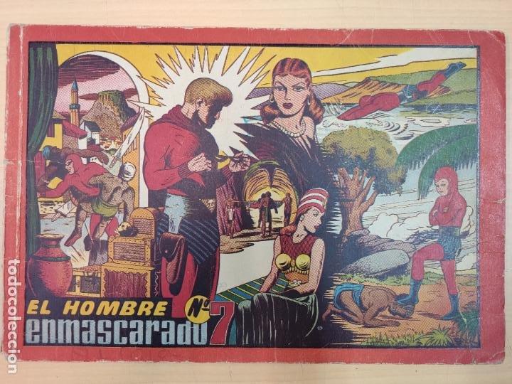 EL HOMBRE ENMASCARADO Nº 7 (Tebeos y Comics - Hispano Americana - Hombre Enmascarado)