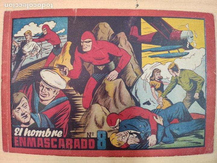 EL HOMBRE ENMASCARADO Nº 8 (Tebeos y Comics - Hispano Americana - Hombre Enmascarado)