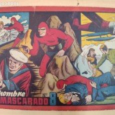 Tebeos: EL HOMBRE ENMASCARADO Nº 8. Lote 203995825