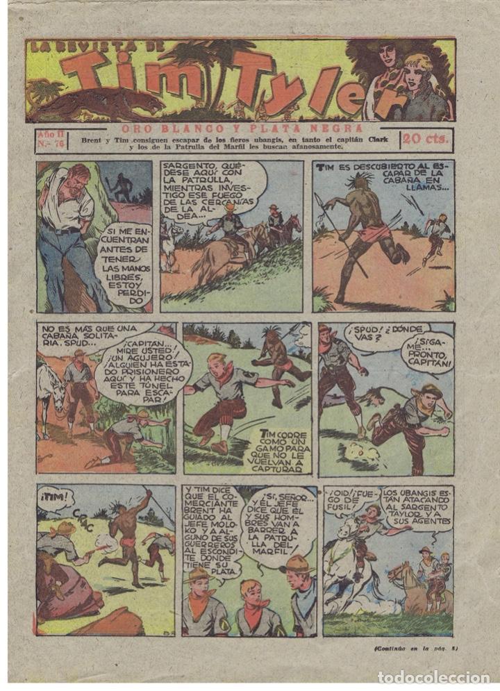 TIM TYLER Nº 76 (Tebeos y Comics - Hispano Americana - Tim Tyler)