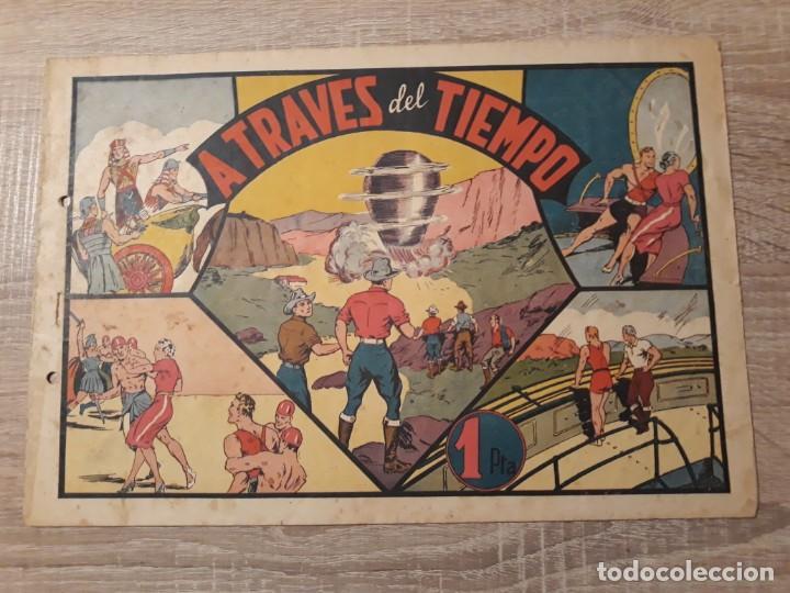 A TRAVÉS DEL TIEMPO.CARLOS EL INTREPIDO.1 PTA. (Tebeos y Comics - Hispano Americana - Otros)