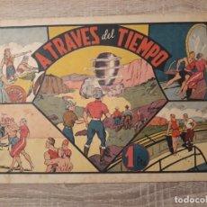 Tebeos: A TRAVÉS DEL TIEMPO.CARLOS EL INTREPIDO.1 PTA.. Lote 204355412