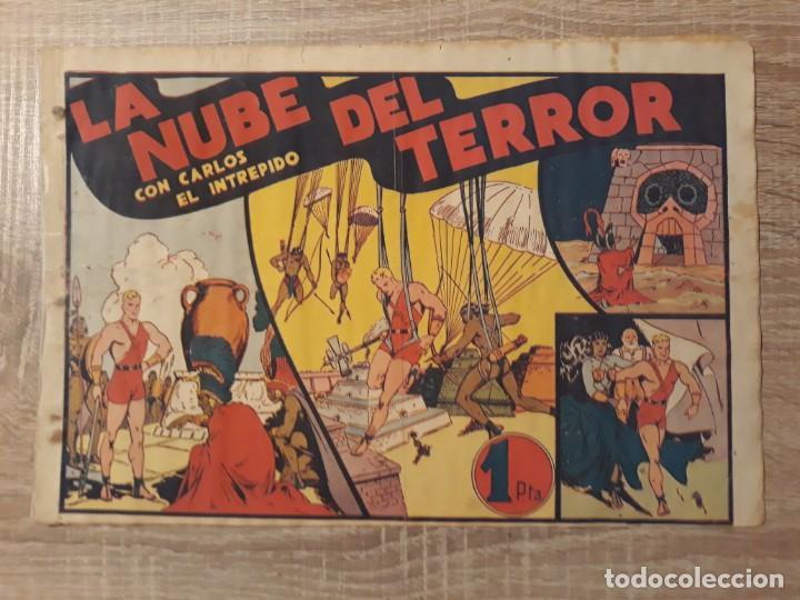 LA NUBE DEL TERROR CON CARLOS EL INTREPIDO.1 PTA (Tebeos y Comics - Hispano Americana - Otros)