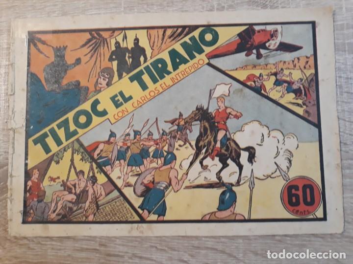 TIZOC EL TIRANO CON CARLOS EL INTREPIDO.60 CÉNTIMOS. (Tebeos y Comics - Hispano Americana - Otros)