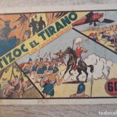 Tebeos: TIZOC EL TIRANO CON CARLOS EL INTREPIDO.60 CÉNTIMOS.. Lote 204358100