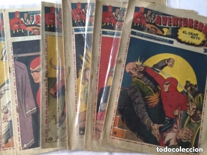 AVENTURERO- LOTE DE 6 EJEMPLARES (NUM.7-8-9-13-14-15)- MUY BIEN CONSERVADOS (Tebeos y Comics - Hispano Americana - Aventurero)