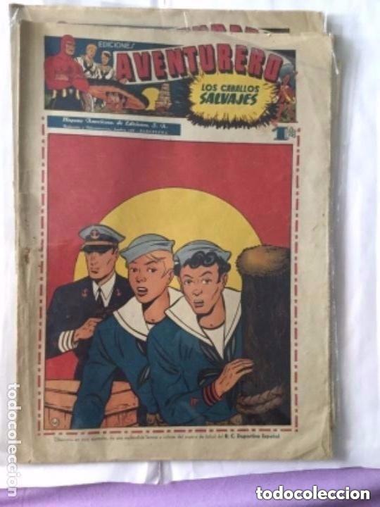 Tebeos: Aventurero- lote de 6 ejemplares (num.7-8-9-13-14-15)- muy bien conservados - Foto 2 - 204552137