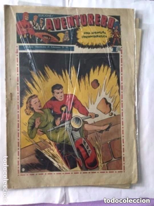 Tebeos: Aventurero- lote de 6 ejemplares (num.7-8-9-13-14-15)- muy bien conservados - Foto 3 - 204552137
