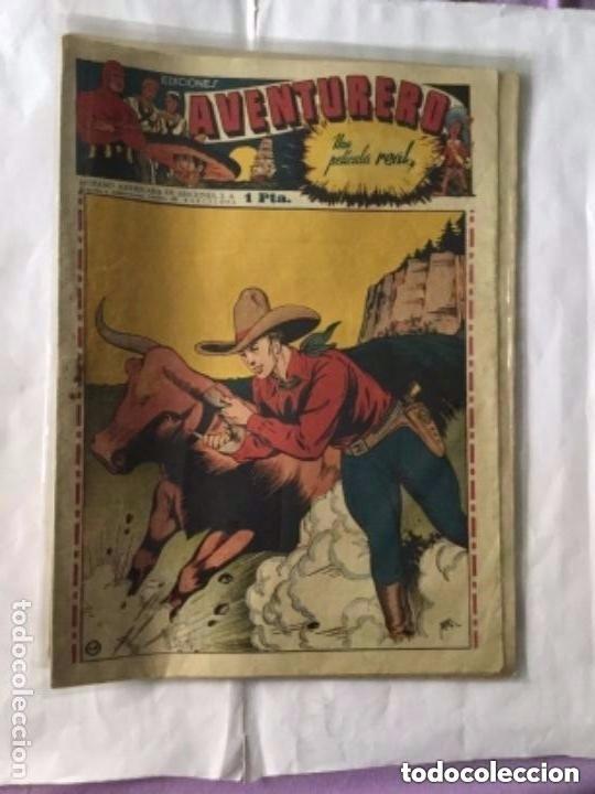 Tebeos: Aventurero- lote de 6 ejemplares (num.7-8-9-13-14-15)- muy bien conservados - Foto 4 - 204552137