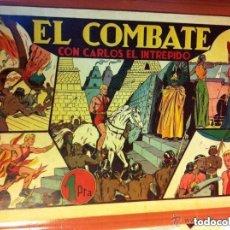 Tebeos: CARLOS EL INTRÉPIDO - EL COMBATE- MUY BIEN CONSERVADO. Lote 204553710
