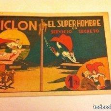 Tebeos: CICLON - SERVICIO SECRETO - MUY BIEN CONSERVADO. Lote 204595185