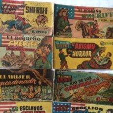 Tebeos: PEQUEÑO SHERIFF - LOTE DE 119 EJEMPLARES. Lote 204596925