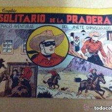 Tebeos: EL JINETE ENMASCARADO (LONE RANGER) - Nº. 1 -EXCELENTE CONSERVACIÓN. Lote 204597831