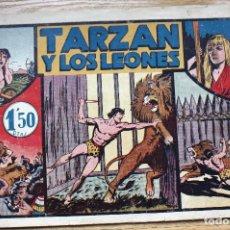 Tebeos: TARZAN Y LOS LEONES - ORIGINAL. Lote 204679201
