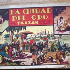 Tebeos: TARZAN. LA CIUDAD DEL ORO - ORIGINAL. Lote 204679508
