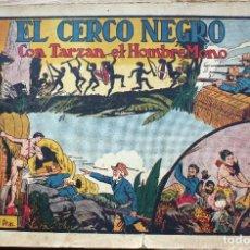 Tebeos: TARZAN. EL CERCO NEGRO - ORIGINAL. Lote 204679868